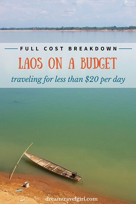 Laos travel cost (on a budget): full cost breakdown of my total travel cost (less than $20 a day for accommodation, food, transport, visa and visits) and how I did it.