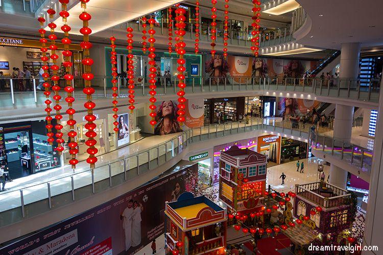 Shopping mall in Kuala Lumpur