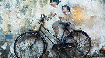 Georgetown in Penang: UNESCO and street art