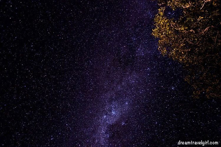 Night sky from Banks Peninsula