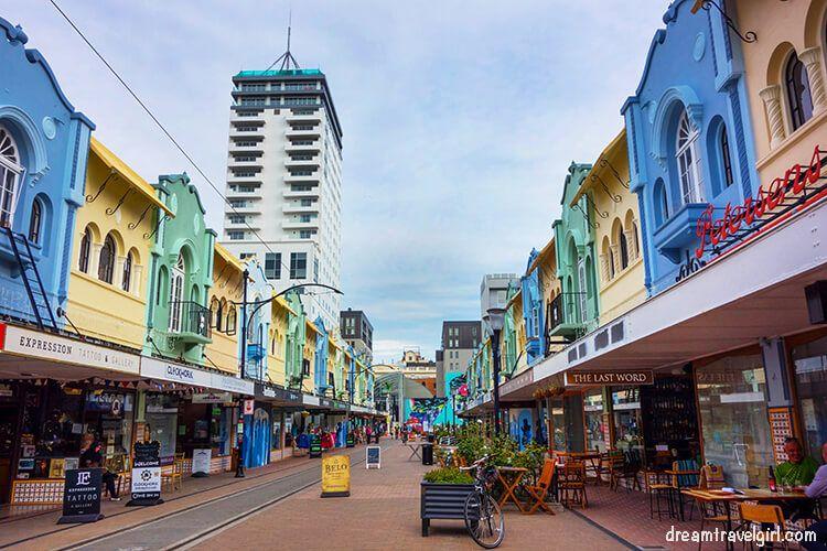 The new Regent Street, Christchurch