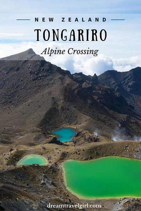 Hiking in Mordor: the Tongariro Alpine Crossing