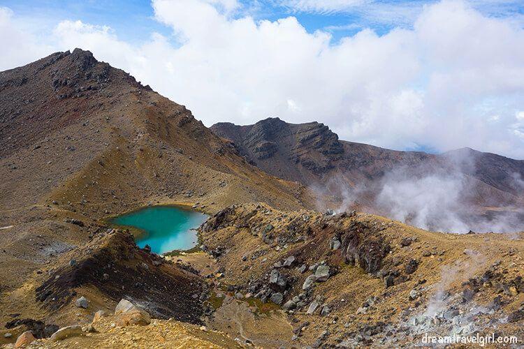 Tongariro Alpine Crossing, Nueva Zelanda