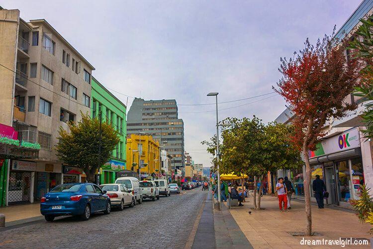 Street in Viña