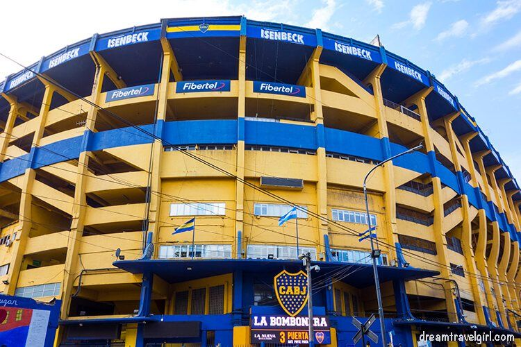 La Bombonera, stadium of Boca Juniors