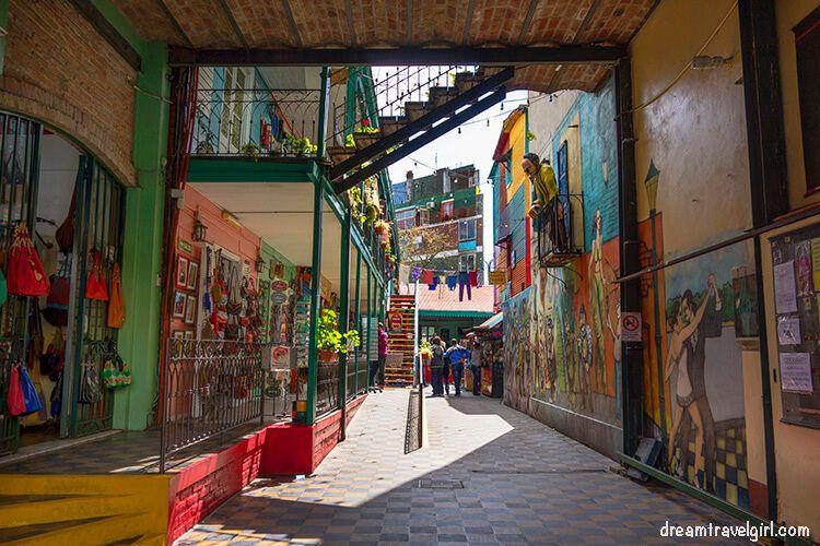 Conventillo in Caminito, nowadays a cultural center