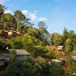 Lahu village in northern Thailand