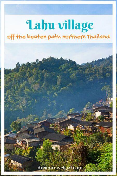 Lahu village: off the beaten path northern Thailand