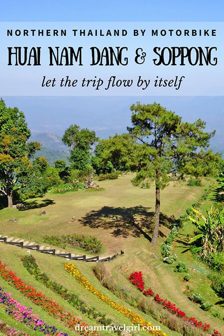 Northern Thailand by motorbike: Huai Nam Dang, Pai and Soppong