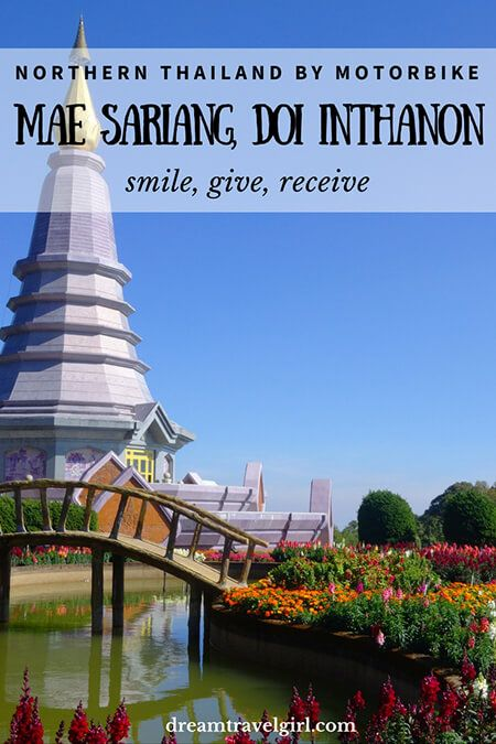 Northern Thailand by motorbike: Mae Sariang and Doi Inthanon