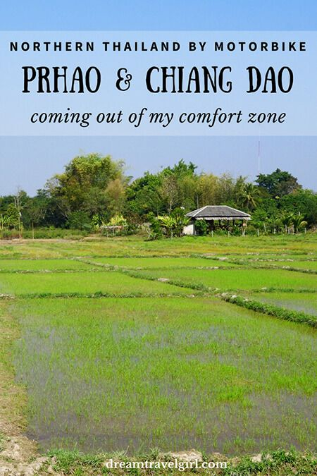 Northern Thailand by motorbike: Phrao and Chiang Dao