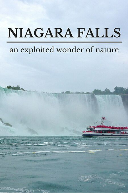 Niagara Falls: an exploited wonder of nature