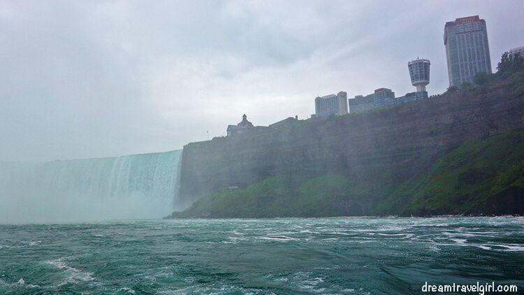 Niagara Falls Canada, skyline of hotels