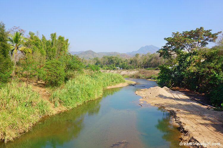 Khun Yuam: river