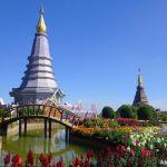 Royal pagodas, Thailand