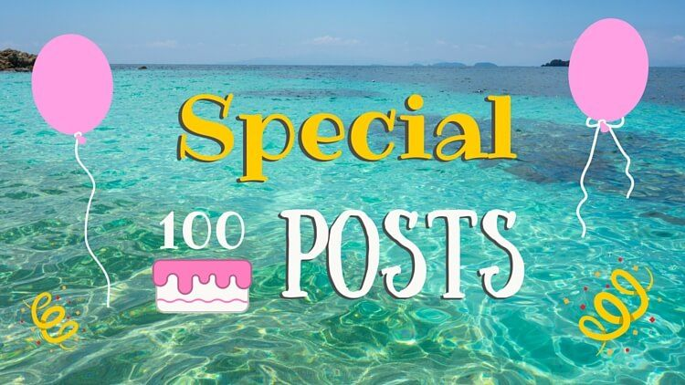 Special 100 posts - title