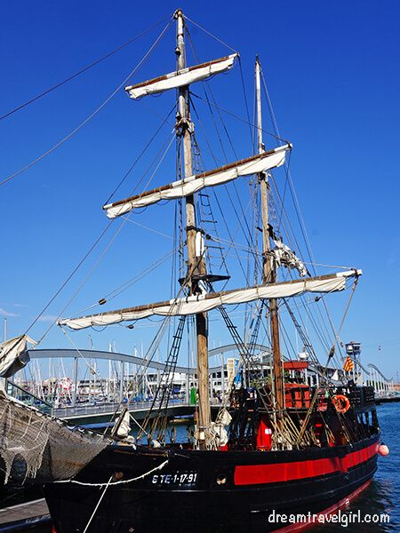 The pirate ship!