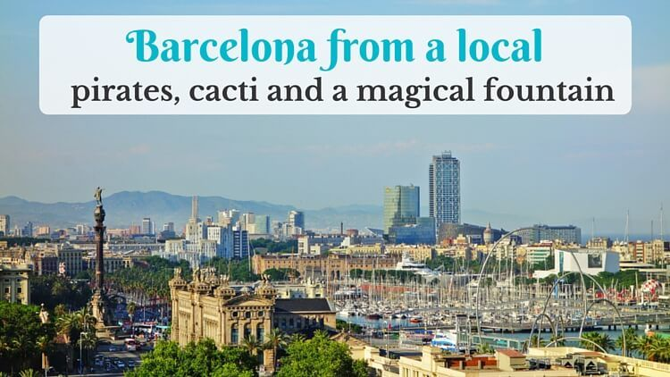 Barcelona from a local: a walk around the city