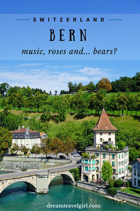 Bern: music, roses and... bears?
