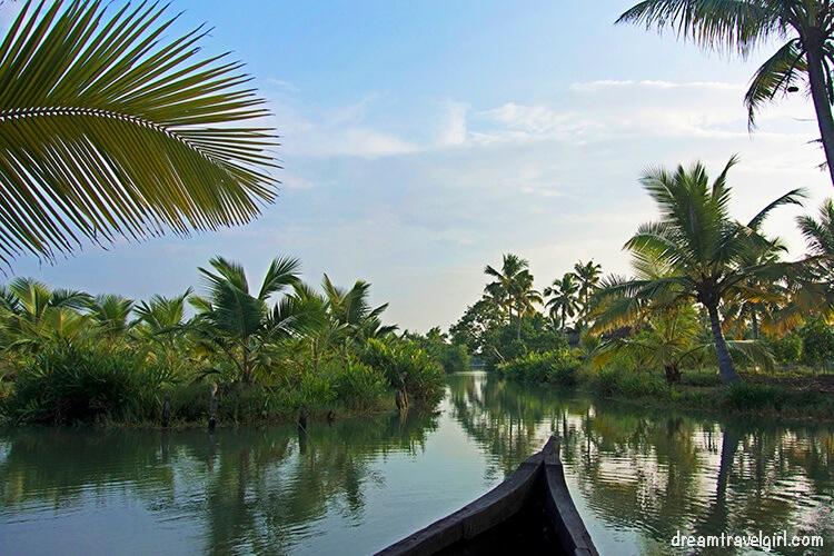 Isla Munroe, backwaters de Kerala, India