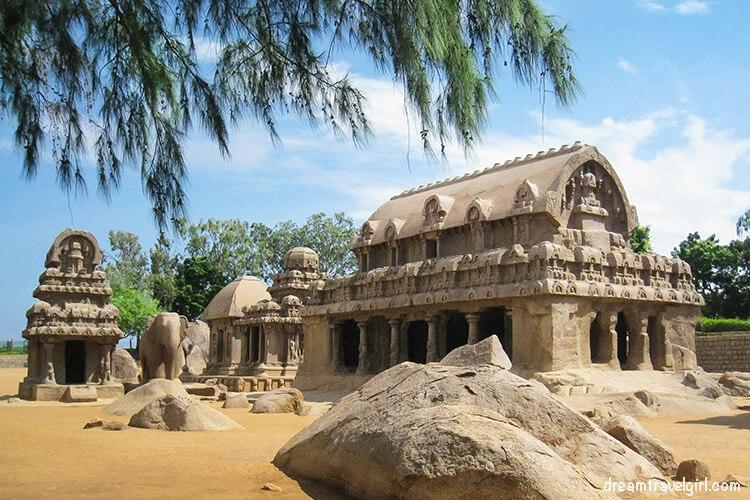 Places to visit in South India: Mamallapuram, Tamil Nadu