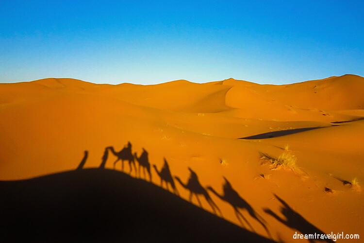 Desierto del Sáhara, Marruecos