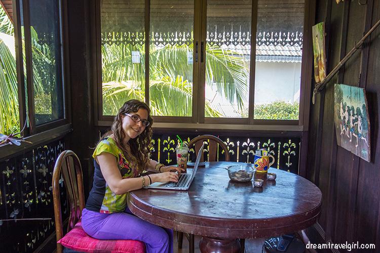 Trabajando en Chiang Mai, Tailandia
