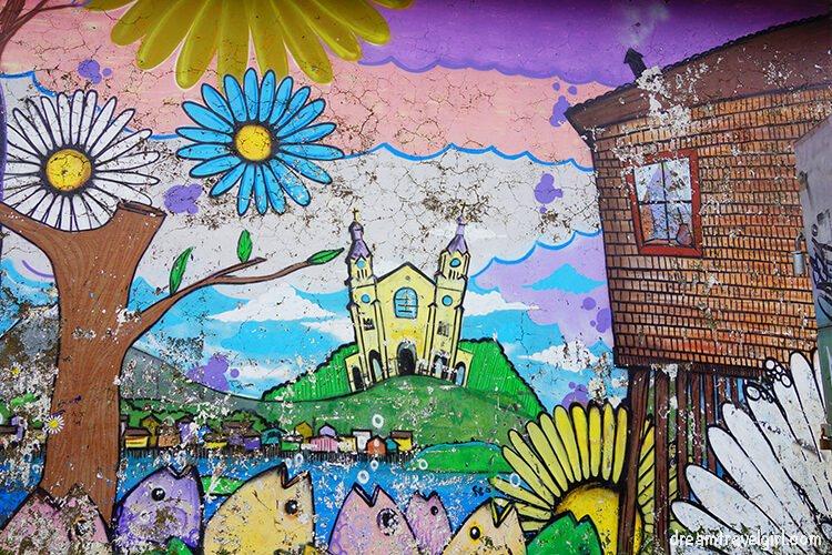 Street art in Castro