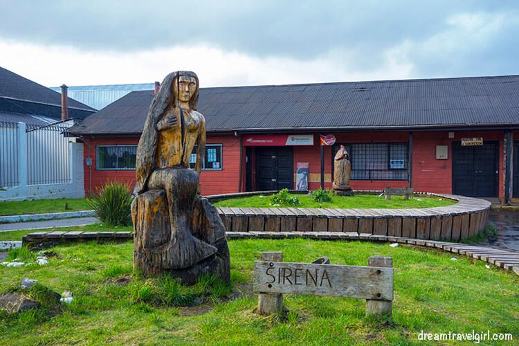 Sirena chilota in Quellon