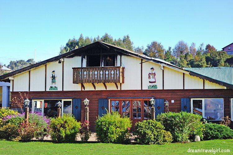 German style house in Frutillar