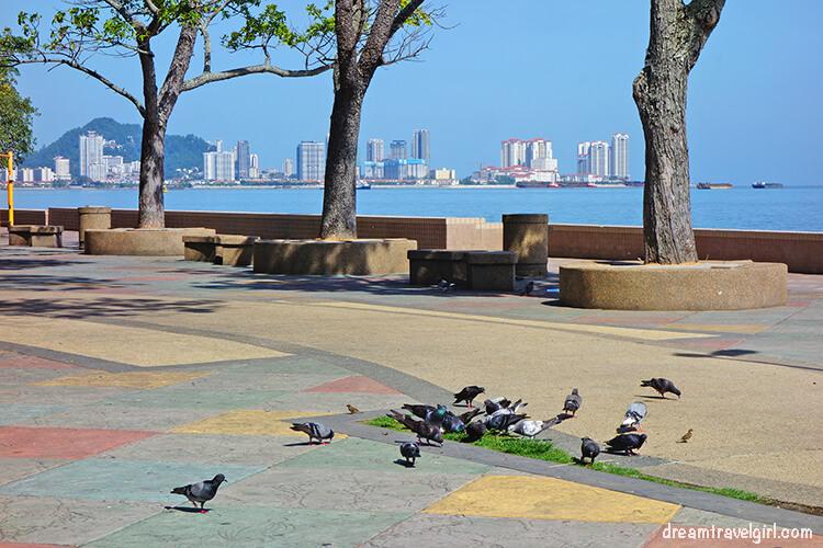 Waterfront in Georgetown, Penang