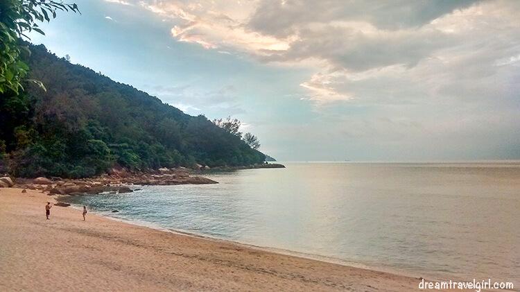 The Spice Garden beach in Penang