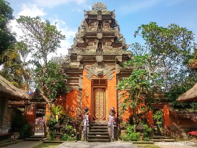 Ubud Palace, Bali, Indonesia