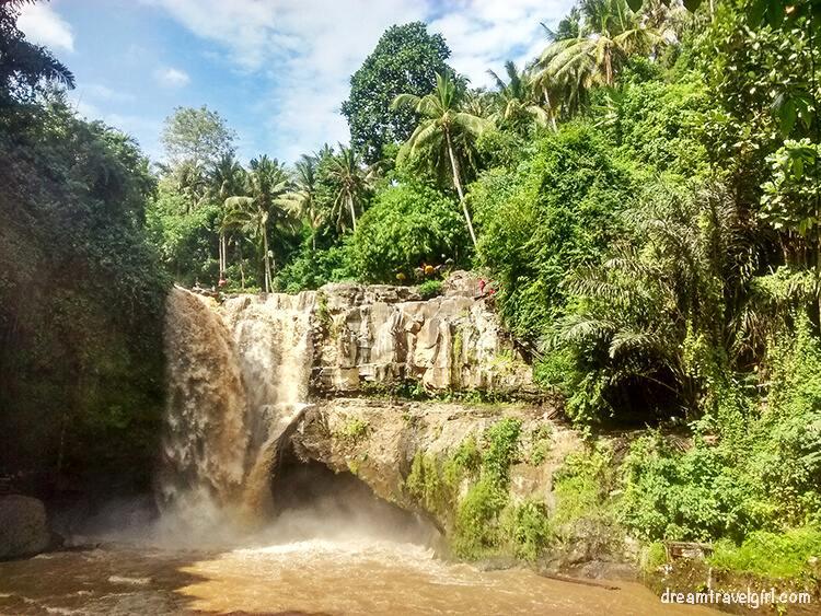 Waterfall in Bali, Indonesia