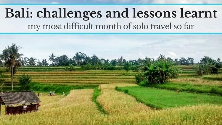 Bali: challenges and lessons learnt
