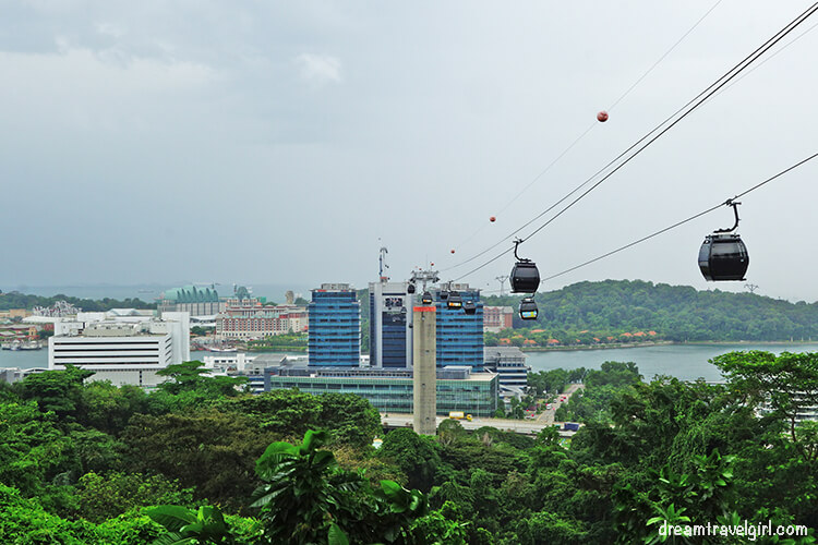 Views from Mount Faber, Southern Ridges, Singapore