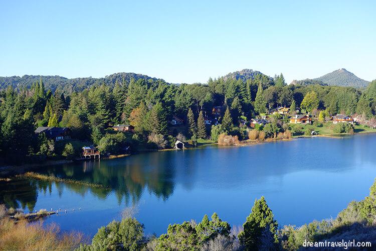 Bariloche: views from the hotel Llao Llao