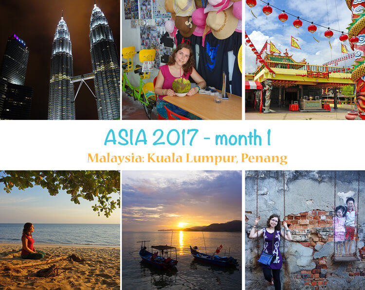First year as a digital nomad: photo summary of month 1