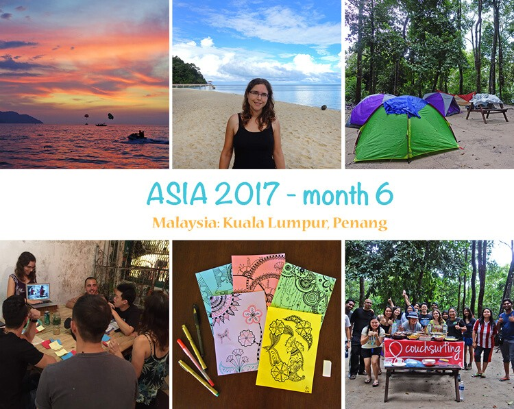 First year as digital nomad: photo summary of month 6