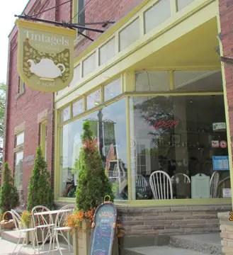 Tintagles Tea Shop village of Erin Ontario