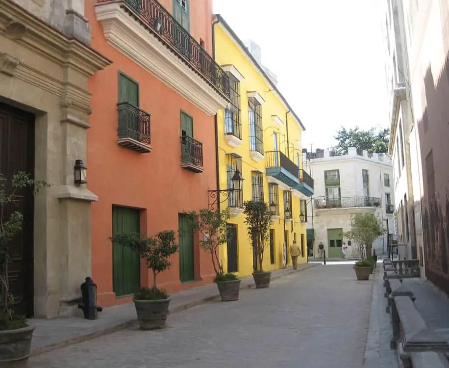 Havana_old streets refurbished_cuba
