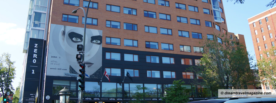 Hotel Review: Zero 1 Hotel Montreal: Funky, Awesome, Great Location