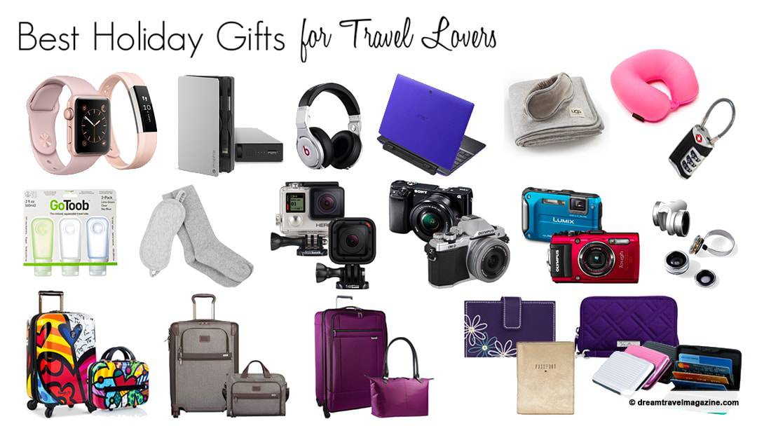 Dream travel magazine 39 s best holiday gift ideas for travel for Good gifts for a traveler