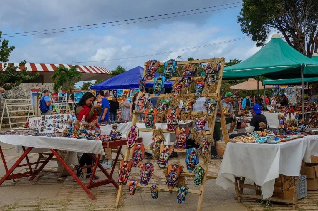 Shopping Market at Brisas Gaurdalavaca Resort Cuba
