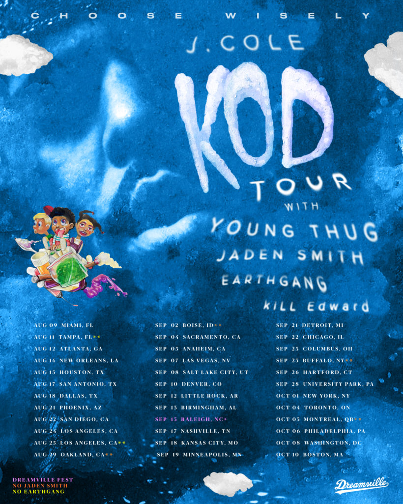 Kod Tour Dreamville
