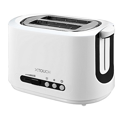 X Touch Toaster 2 Slice TST201 - White