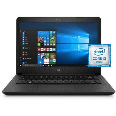 HP Notebook 14 BP061SA Intel Core i3 Laptop 14 Inch 4 GB RAM 500 GB SATA - Recertified