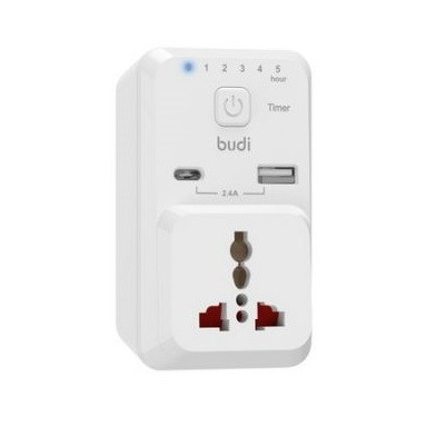 Budi Home Charger Port