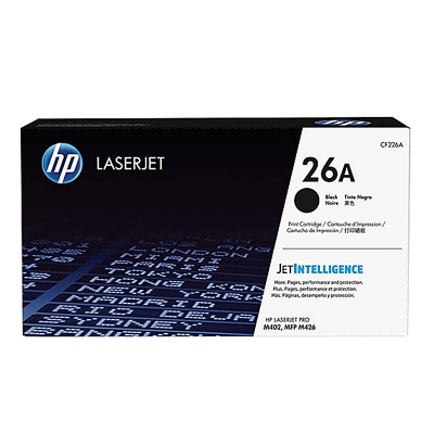 HP 26A Black Toner Cartridge