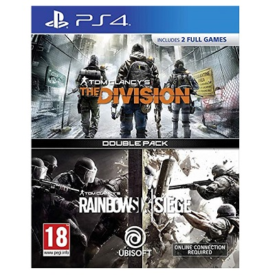 Tom Clancy's The Division & Rainbow Six Siege - Double Pack for PlayStation 4